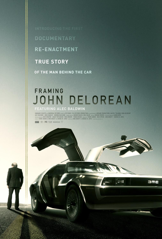 'Framing John DeLorean' Review Haiku: Back to theFuture